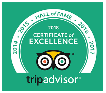 Award BHN TripAdvisor Hall of Fame